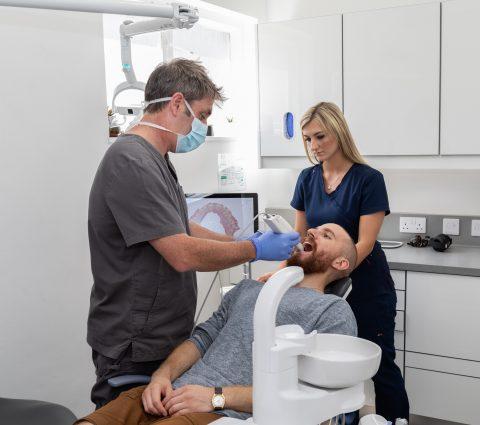 3d scanning dental logic